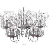 decorative crystal chandelier lamp