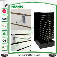 Ganchos de exibição para suporte de rack giratório MDF