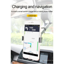 car phone mount and wireless charger automatic infrared