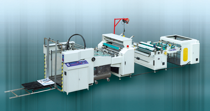 (No-glue Pre-coated) Automatic Film Laminating Machine