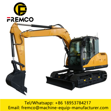 New Mini Excavator Hydraulic Crawler Mounted