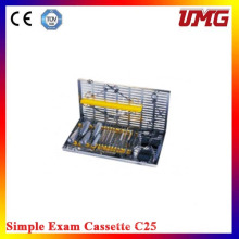 C25 Dental Instruments Stainless Dental Sterilizer Cassette