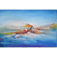 Pintura a óleo abstrata para a decoração da sala de parede