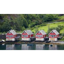 Estructura de acero Living House Near River (KXD-pH1384)