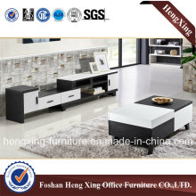 Wooden Home Furniture Melamine TV Stand (HX-6M358)