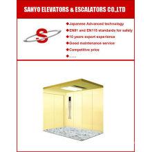 Large Jamb Option Type Cargo Elevator / Freight Elevator