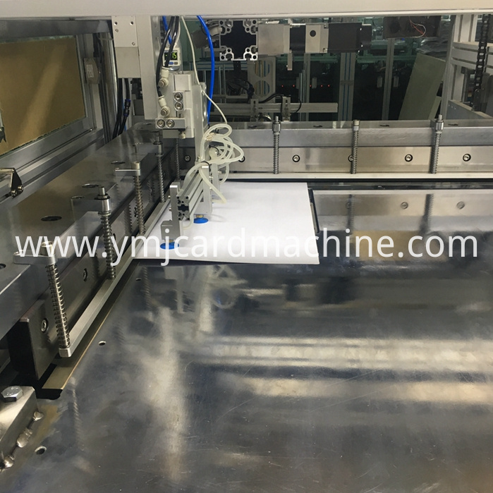 Smart Card Sheet Trimming Machine