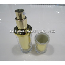 30ml 50ml Shiny Acrylic Lotion Bottle For Cosmetic Packaging And Printing