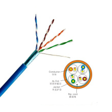 Twisted pair 250Mhz ftp cat5e cable