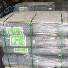 Galvanized Poultry Durable Commercial Hexagonal Wire Mesh For Sale