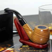 Briar Wood Pipes Heat Resistance Durable Durable Smoking Pipe