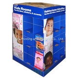Silk Screen Printing Cardboard Display Boxes For Supermarket Promotion