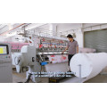CS110 Multi Agulha Industrial Consolador Manufacturing máquina de costura Quilting