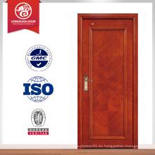 Puerta de madera sólida de la entrada clasificada fuego de 45m m 60min, puerta de madera sólida, puerta rasante.