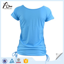 Hot Girls Fashion Fitted Blank Cotton Sportswear