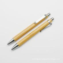 Caneta Esferográfica de Bambu Reciclado para Promoção (XL-11201)