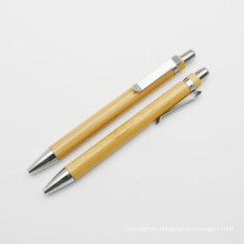 Переработанного бамбука ручка шарика для Промотирования (ХL-11201)