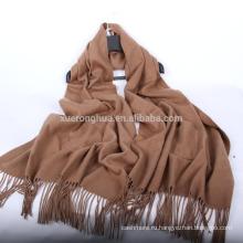 2017 новизны изготовленный на заказ кашемировый палантин с карманами