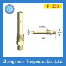 Soporte de punta de contacto de latón Panasonic 350A