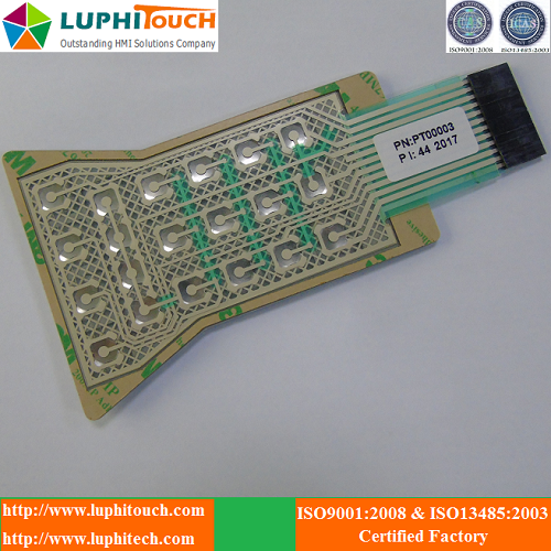 Rubber Keypad Waterproof Membrane Switch 3