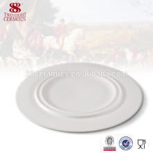Deutsches Essgeschirr preiswerte billige weiße Porzellanteller