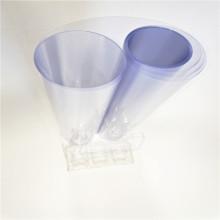 Transparente Geschenkpapierrolle aus PVC