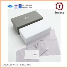 Caja de embalaje de regalo de papel de cartón de lujo con logotipo Imprimir