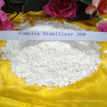 Stabilisateur de chaleur de PVC stabilisateur de zinc de calcium