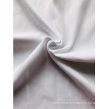 Mikrofasergewebe aus weiß gebleichtem Polyester