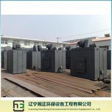 Sistema de limpeza-coletor de poeira do pulso do Plenum