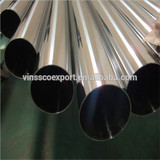 Vinmay stainless steel welded tube grade 201, 304, 316L for furniture, handrail, equirement.