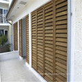 wooden window door louvre plantation window shutters