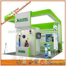 projeto de sistema de cabine de exposição personalizado e produzir contratante
