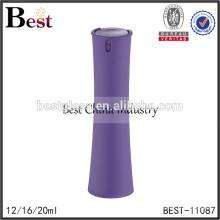 2017 hot nouveaux produits cosmétiques 12 ml 16 ml 20 ml femmes en forme de parfum bouteille violet couvercle en plastique vaporisateur verre bottlee parfum