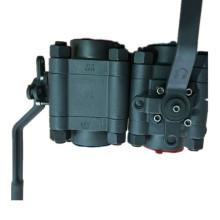 ANSI 800lb forgé en acier A105 fil NPT robinet à boisseau sphérique