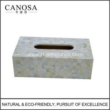 Hotel River Shell Rectangle Tissue Box Holders