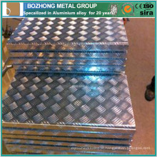 Venda quente 2218 placa quadriculada de alumínio