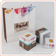 Custom High-End Paper Bags With Custom Logo Name Printing