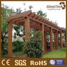 WPC Garden Pergola /Fence Railing Guangzhou Manufacturer