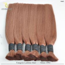 Cheveux raides noirs naturels et cheveux de vague de corps / Vietnam en vrac remy vierges humains en vrac