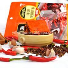 Beurre Hot Pot assaisonnement sichuan saveur à goûter à la maison