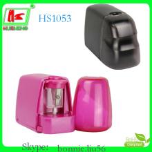 2 kinds plastic custom pencil sharpener made in china