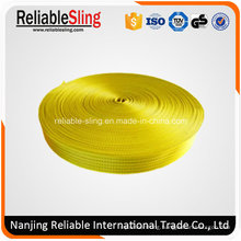Ce SGS 75mm Yellow Polyester Webbing Straps