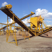 High Frequency Sand Screening Plant