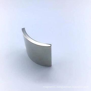 Segment Arc shape neodymium magnet industrial NdFeB magnet
