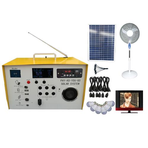 Solar prepaid system