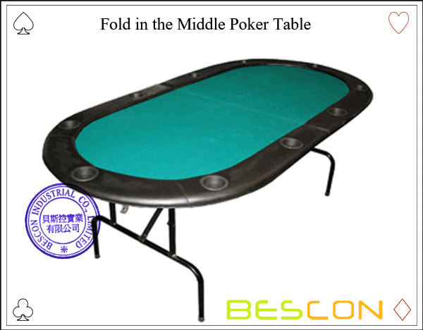 Fold in the Middle Poker Table