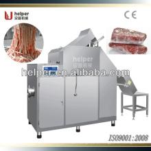 Máquina cortadora e trituradora de carnes