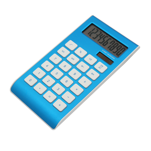 desktop aluminum calculator
