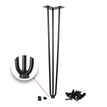 Eisen Metall Haarnadel DIY Tischbein